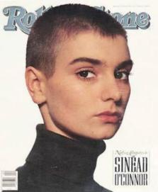 Rolling Stone, No. 580 (1990). Mouth closed & at rest.