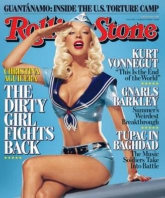 Rolling Stone, No. 1007 (2006). Mouth open & at rest.