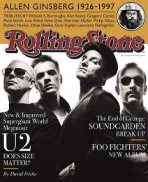 Rolling Stone, No. (1997). Mouth closed & at rest.