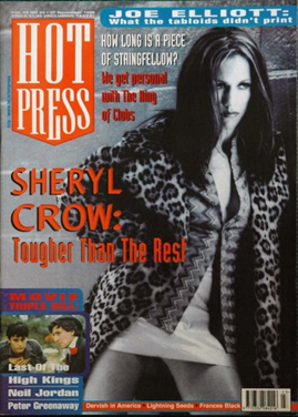 Hot Press, Vol. 20(23) (1996). Mouth closed & at rest.