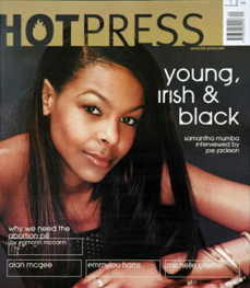 Hot Press, Vol. 24(20) (2000). Mouth closed & smiling.