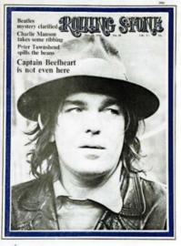 Rolling Stone, No. 58 (1970). Mouth open & at rest.