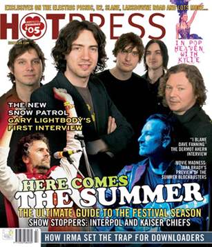 Hot Press, Vol. 29(8) (2005). Mouth closed & smiling (3 men).