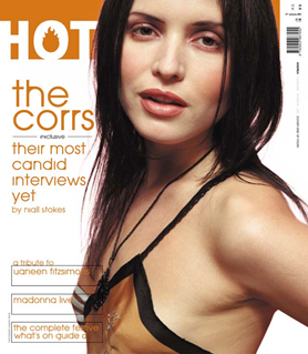 Hot Press, Vol 24(4) (2000). Mouth open & at rest.