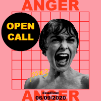 Open call accepting written and visual work for Spread 003: The Anger Issue